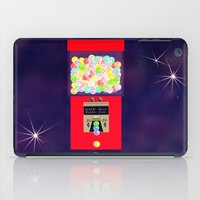 gumball iPad Cases featuring Super Moon Gumball Machine by Mel Moongazer