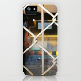 Abandoned X iPhone Case