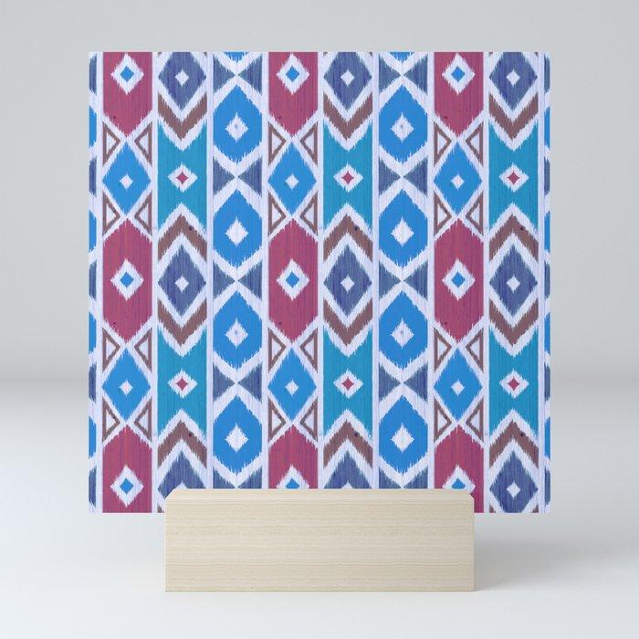 Wood Boho 11 Mini Art Print