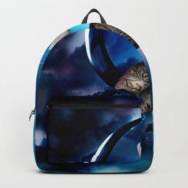 Cute little kitten Backpack