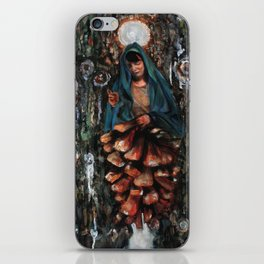 Apparition of the Virgin Mary iPhone Skin