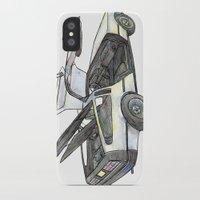 delorean iPhone & iPod Cases featuring DMC - Delorean by dareba