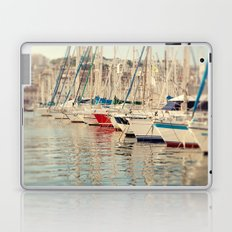 Marseille Harbor Laptop & iPad Skin