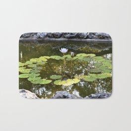 Lily Pad Circle Bath Mat