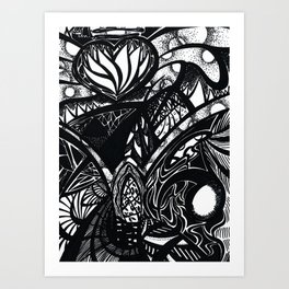 The World of the Gifted Art Print