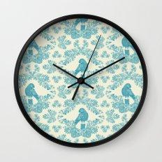 Mexican Parrot Wall Clock