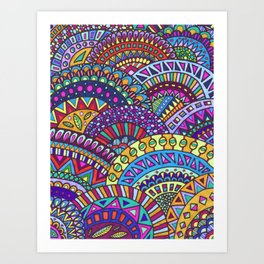 Fancy Dancer Art Print