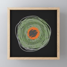 I Don't Know You from Atom Framed Mini Art Print