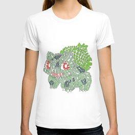 Typographysaur T-shirt