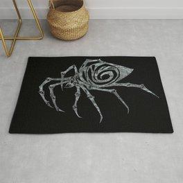 Spider in Reverse Rug
