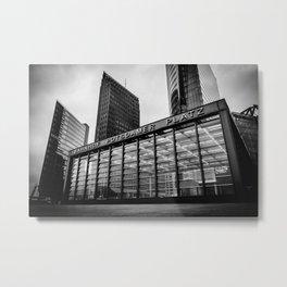 Station Metal Print