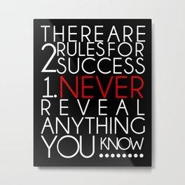 SUCCESS Metal Print