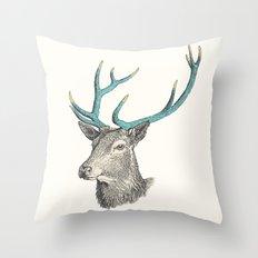 Party Animal - Deer Throw Pillow