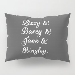 The Pride and Prejudice Couples II Pillow Sham
