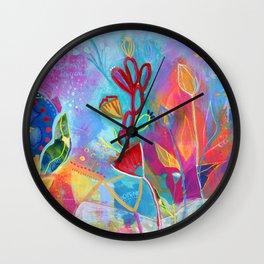 Bloom Song Wall Clock