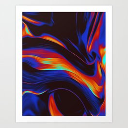 Draz Art Print