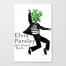 Elvis Parsley Canvas Print