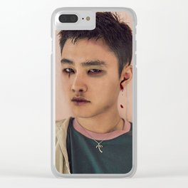 Busted Kyungsoo Clear iPhone Case