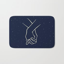 Written in the Stars Bath Mat