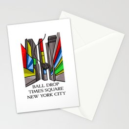 Ball Drop Times Square Stationery Cards