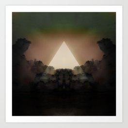 Abstract Environment 02: The Rorschach Test Art Print