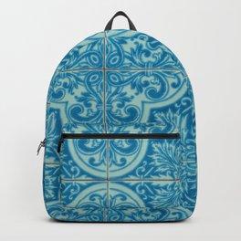 Azulejos azules Backpack