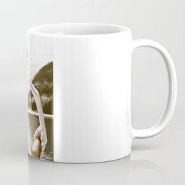 Naked Cowboy (retro color) Coffee Mug