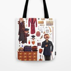 The Tools of a Consultant Detective Tote Bag
