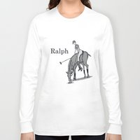 wreck it ralph Long Sleeve T-shirts featuring Ralph by David Michael Schmidt