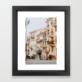 Manarola Cinque Terre Framed Art Print