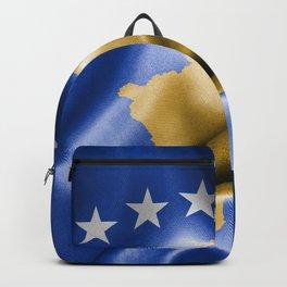 Kosovo Flag Backpack