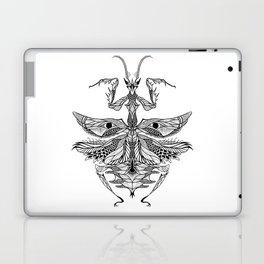 MANTIS beetle psychedelic / zentangle style Laptop & iPad Skin