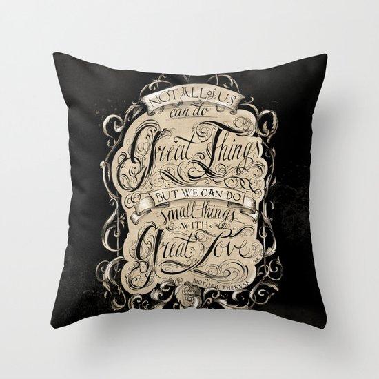 Great Love Throw Pillow
