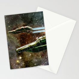 Tegrayt System Defense Squadron Stationery Cards