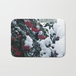 Winter and snow Bath Mat