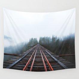 Abandoned Railroad Vance Creek Bridge - Olympic National Park, Washington Wall Tapestry