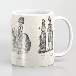 Women's Fashions through the Ages v.1 Coffee Mug