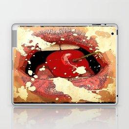 Red Cherry Lips Laptop & iPad Skin