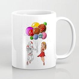 Astronaut Love Coffee Mug