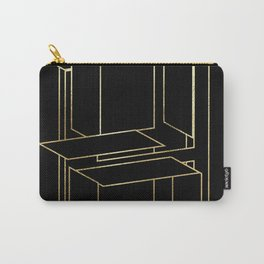 Gold Armor Letter H Carry-All Pouch