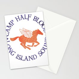 camp half blood logo Stationery Cards