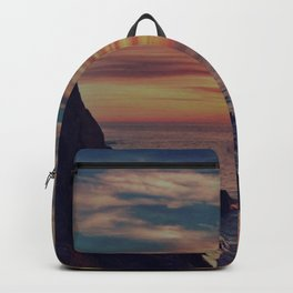 Californian Sunset - night Backpack
