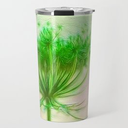 Queen Anne lace Travel Mug