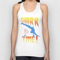 shark Tank Tops featuring Shark by Silver Larrosa