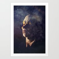 clown Art Prints featuring Clown by Spectacle Photo