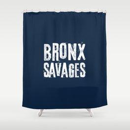 Bronx savages Shower Curtain