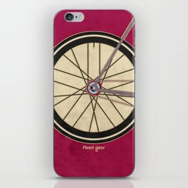 Single Speed Bicycle iPhone Skin