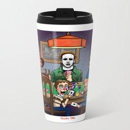 Killing Time Metal Travel Mug