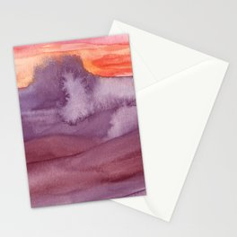 Mar de Lava Stationery Cards