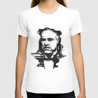 the godfather T-shirts featuring The GODFATHER by A. Dee